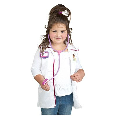 Gotta have the lab coat. I mean, what kind of doctor would she be? LOL Doc McStuffins® Dress Up Set at #BigLots.