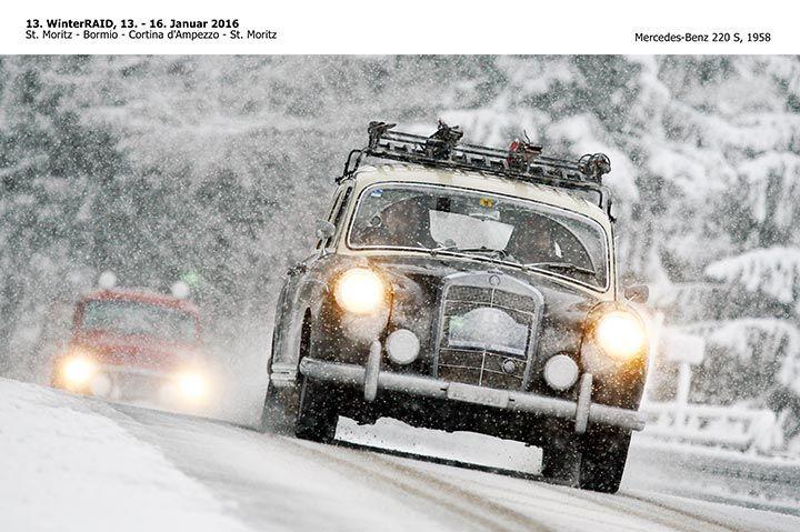 Oggi al Via la Winter Raid 2016 da St Moritz