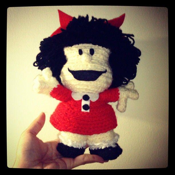 Mafalda #mafalda #crochet #quino #magentaslovelyjungle # ...