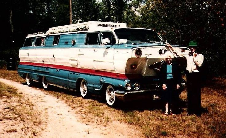 """""""Just saw Noah's ark"""" – details emerge on the ShamRockAway motorhome 