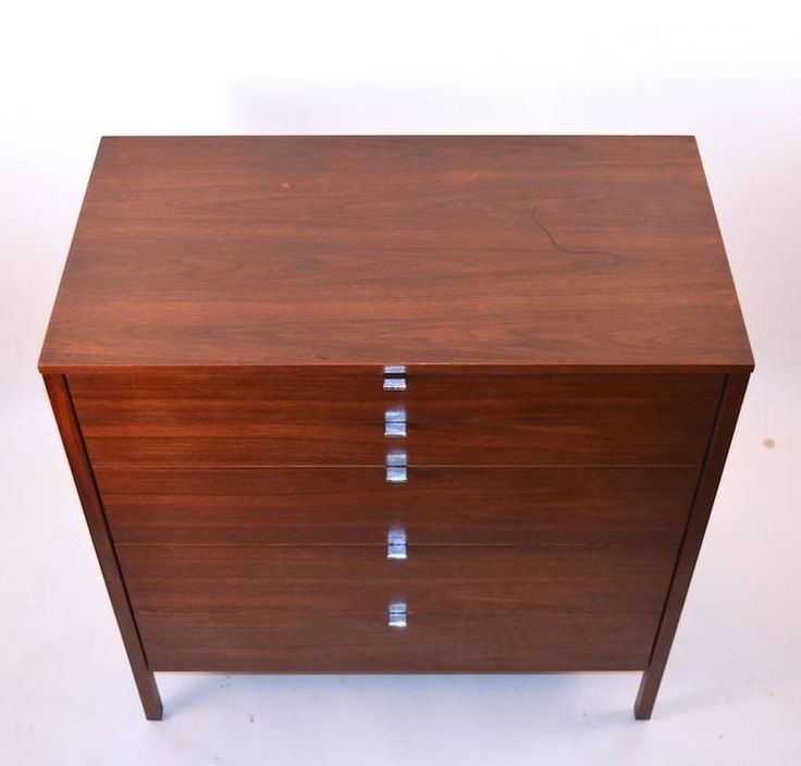 Pair of Rosewood Florence Knoll Dressers 3
