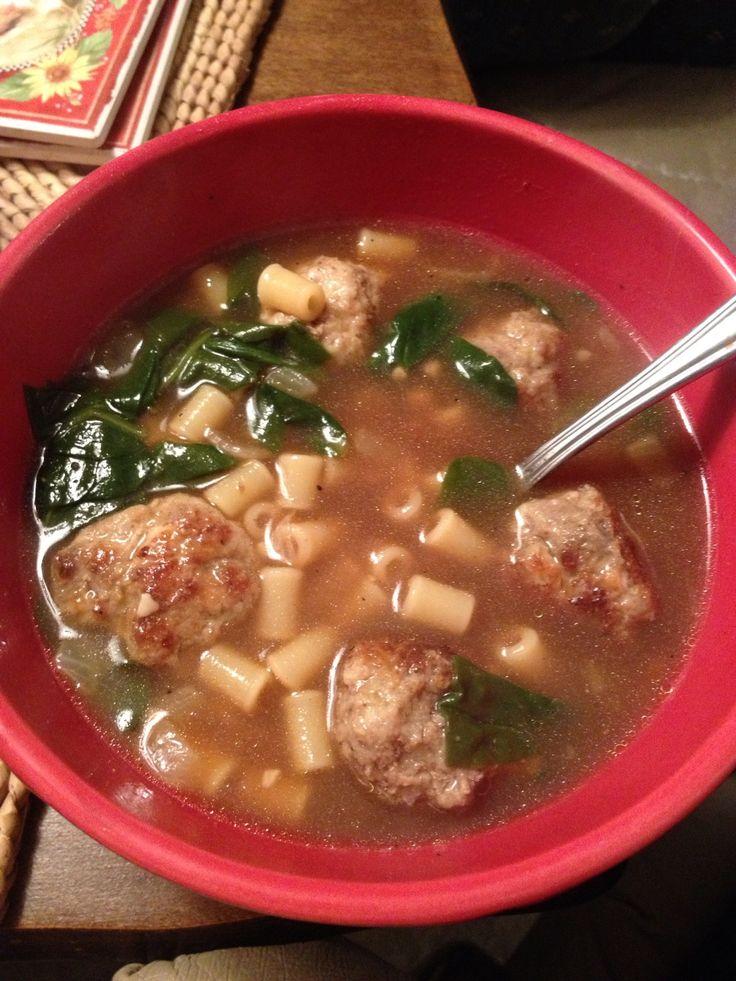 Olive Garden Italian Wedding Soup Recipe