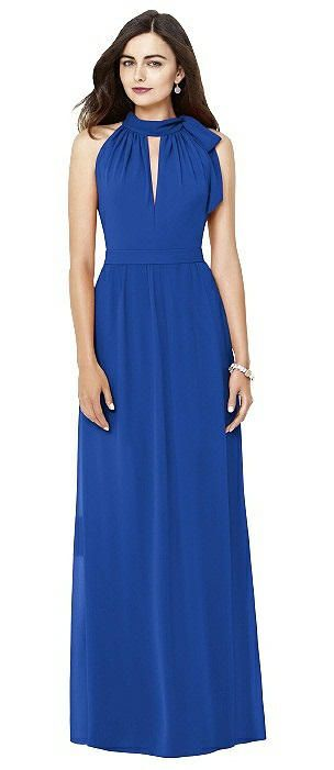 Bridesmaid Dresses In Blues: The Dessy Group