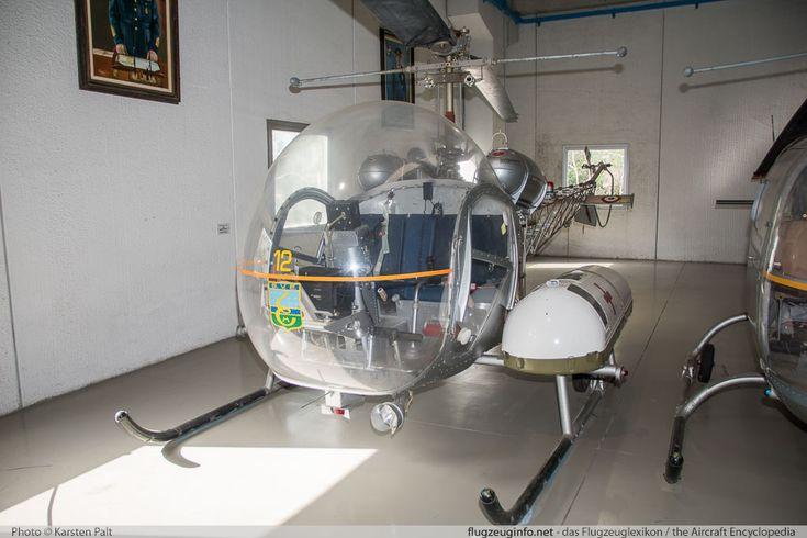 Bell (Agusta) 47G-2 Italian Air Force (Aeronautica Militare) MM80113 116 Museo Aeronautica Militare Bracciano, Vigna di Valle 2016-02-18 � Karsten Palt, ID 12181