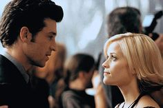 Patrick Dempsey (as Andrew Hennings) and Reese Witherspoon (as Melanie Smooter) ~ Sweet Home Alabama (2002)