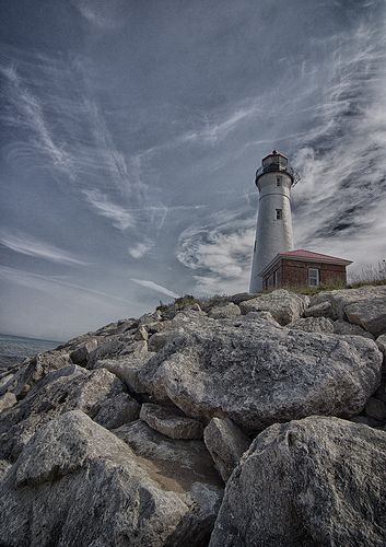 Crisp Point Lighthouse, Lake Superior