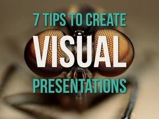 7 Tips to Create Visual Presentations | Presentation created for international VPs of an IT consulting firm, for their introductive training program. || Presentation > PPT Design