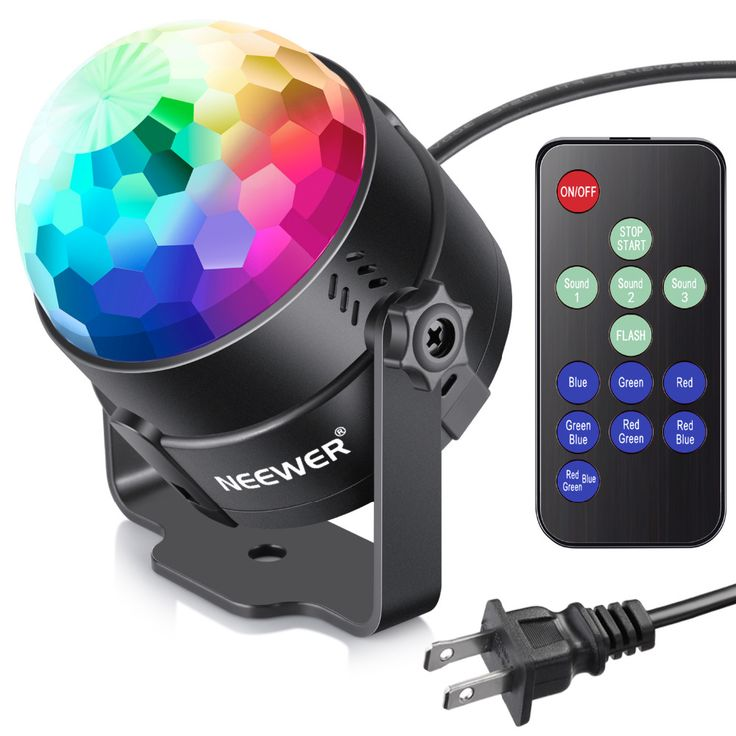 >> Click to Buy << Neewer Mini LED Photo Light Sound Activated Party Light with Remote Control RGB 7 Colors Strobe Light Disco Ball DJ Light #Affiliate