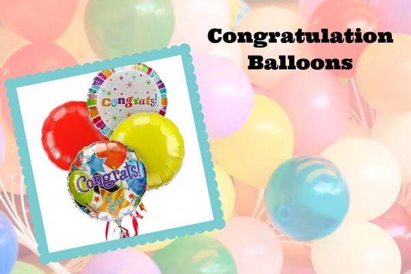 Send Congratulation Balloons