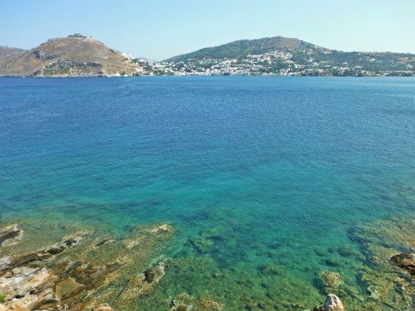 View from Dioliskaria beach