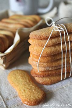 """Light eggs """"Pavesini"""" biscuits. A classic Italian #biscuits #Italian-food"""