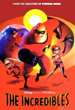 Disney movie posters    The Incredibles