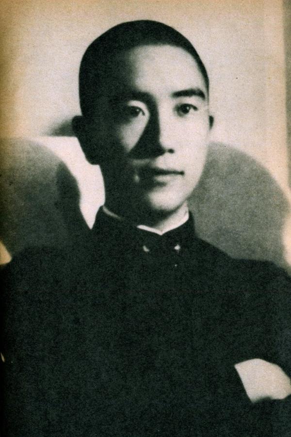 Yukio Mishima at school