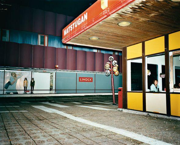 """Lars Tunbjörk - Avesta, Sweden from the series """"Vinter"""" - 2007"""