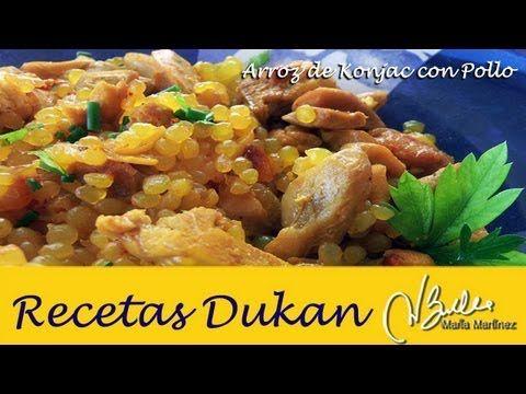 Arroz con Pollo Dukan, con Arroz Konjac (Ataque) | Recetas Dukan Maria Martinez