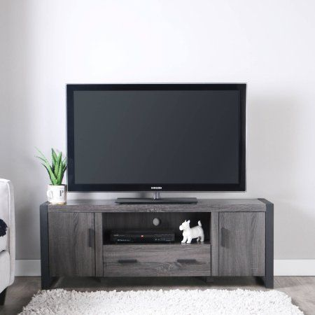 """Reclaimed Wood TV Stand for TVs up to 65"""", Multiple Finishes"""