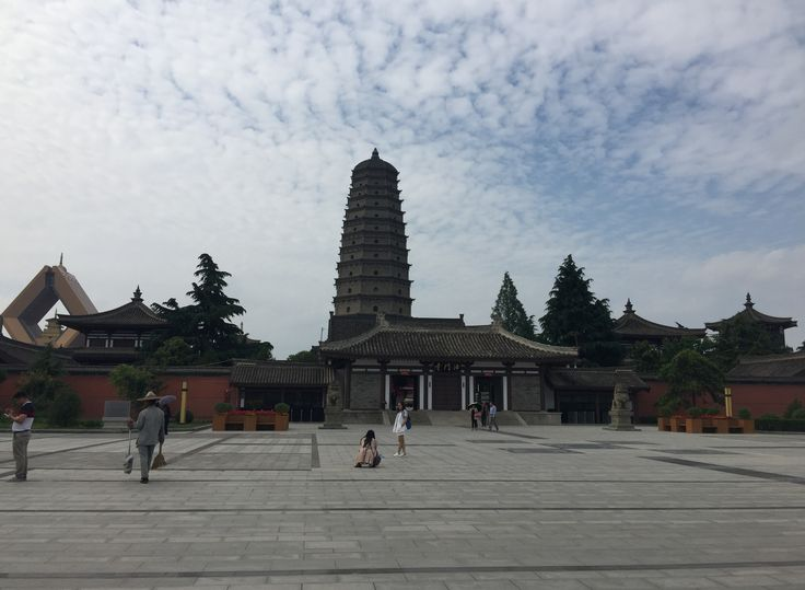 Visited Famen Temple- ancestor of pagoda temples in Guanzhong area,more than 1700 years history, Shaanxi China. 参观法门寺-关中塔庙始祖,1700多年历史,中国陕西