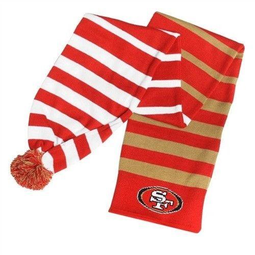 San Francisco 49ers 2015 NFL Football Team Wrap Scarf