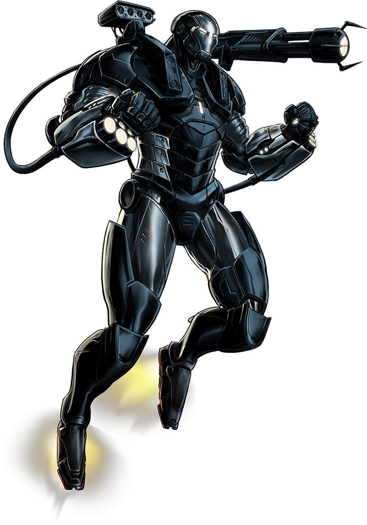 War Machine (James Rhodes) armor during the early 2010s