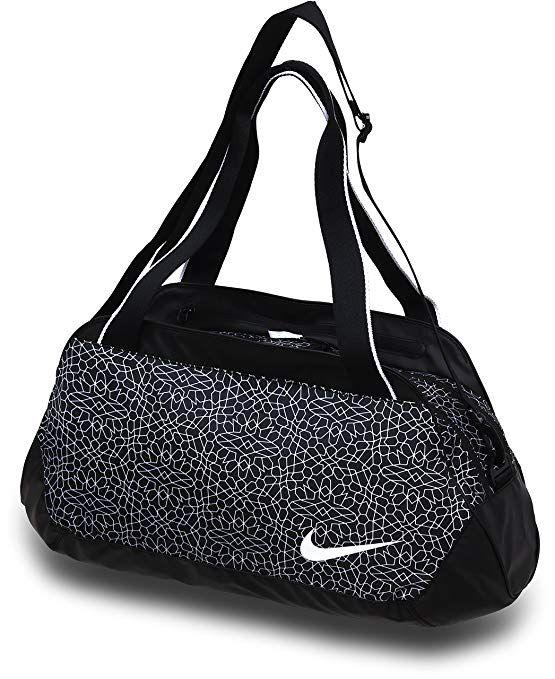 f2a3f1d560a7 Nike Legend Club Print Black Black White 1 Duffel Bags Review