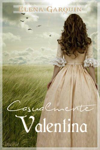 Fan Art de CASUALMENTE VALENTINA, de Elena Garquin (Maca - Bookceando Entre Letras)
