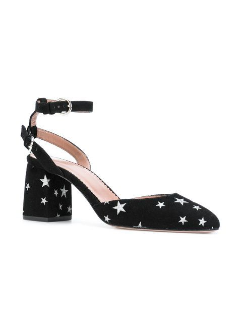 Red Valentino star-embellished pumps