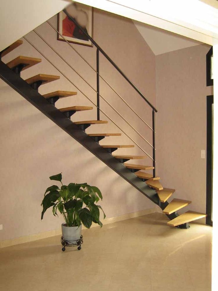escalier d 39 angle stairs pinterest mezzanine. Black Bedroom Furniture Sets. Home Design Ideas