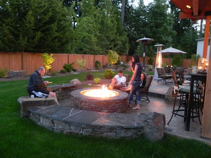 Best 25 Wood Burning Fire Pit Ideas On Pinterest Fire