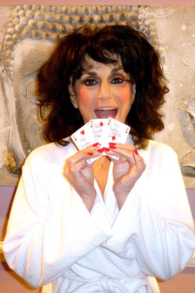 StarCards supporter Lesley Joseph