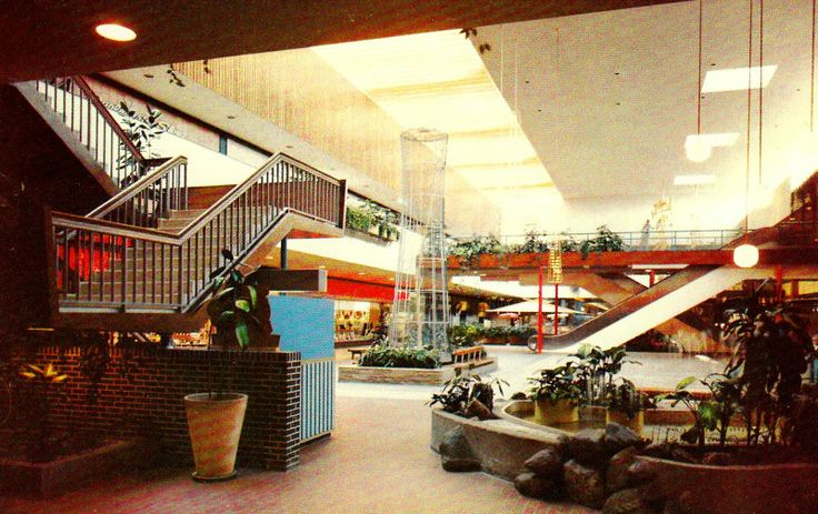Arcades In Mn >> Another 1970s view of the Garden Court at Southdale ...