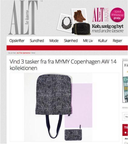 My My Copenhagen in the danish magazine Alt for damerne