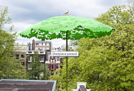 DROOG SHADYLACE PARASOL by Chris Kabel
