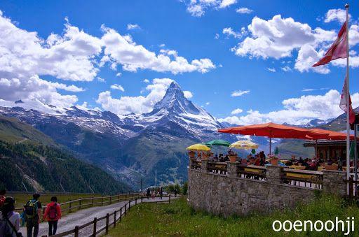 スイス・ツェルマット: 絶景を楽しめるスネガ - 写真で見るヨーロッパ旅行記