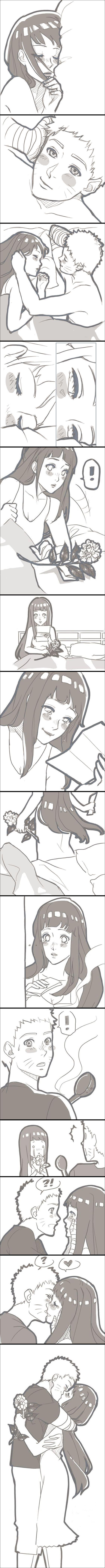 I really love Sasuke and Sakura, but I can't help admit that I love Naruto and Hinata just as much