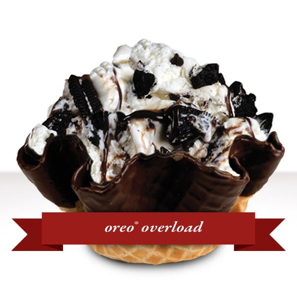 19 best signature creations by cold stone images on pinterest cold cold stone creamery oreo explosion i normally get this in a cup not a waffle cone has been a while since i have been here they also make great ice cream ccuart