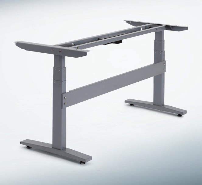 electric adjustable height desk base only for ergonomic standing sit stand desks