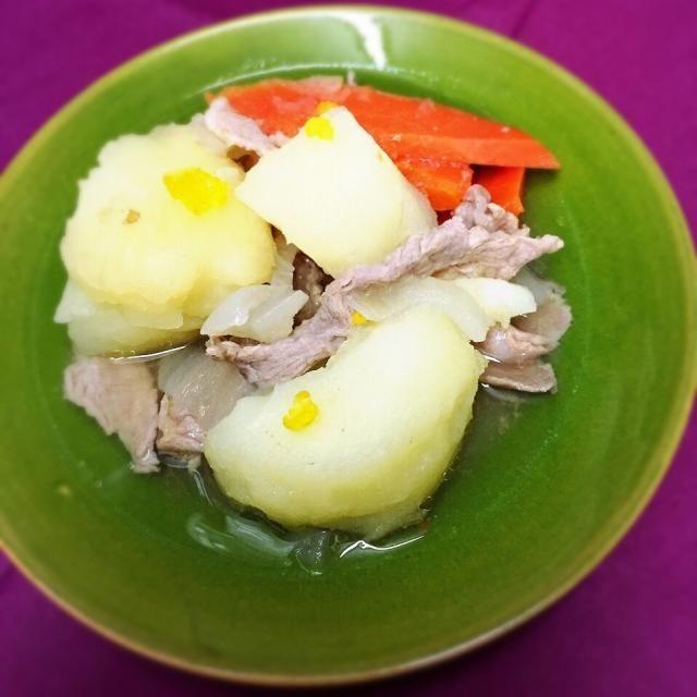 柚子風味がめちゃ美味しい - 47件のもぐもぐ - ゆず塩肉じゃが by marron(まろん)
