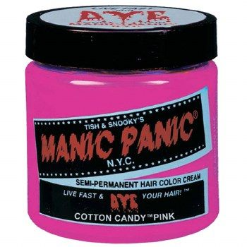 Manic Panic Cotton Candy Pink Semi-Permanent Hair Color