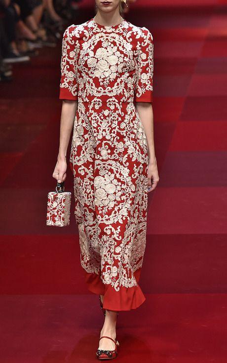 Dolce & Gabbana Spring/Summer 2015 Trunkshow Look 23 on Moda Operandi