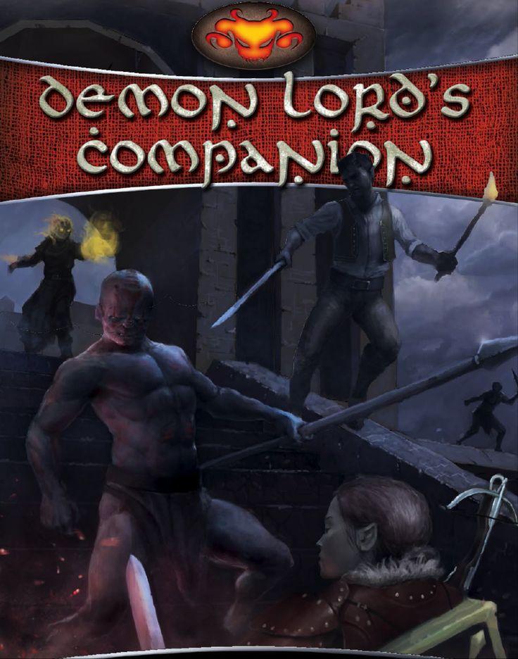 Demon Lord's Companion - Schwalb Entertainment | DriveThruRPG.com
