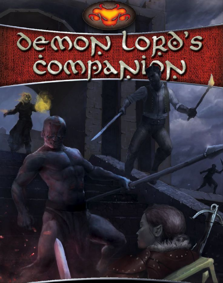 Demon Lord's Companion - Schwalb Entertainment | DriveThruRPG.com
