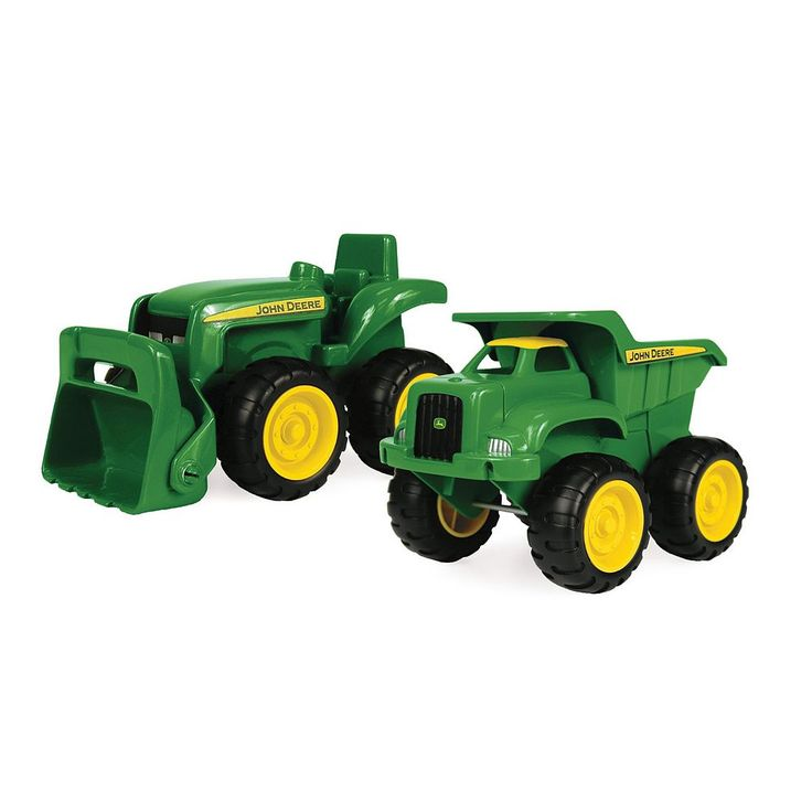 John Deere Sandbox Vehicles, Multicolor