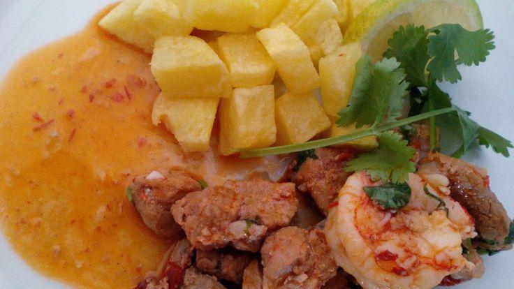 Ventura´s kitchen: Lombinhos de Porco com Camarão