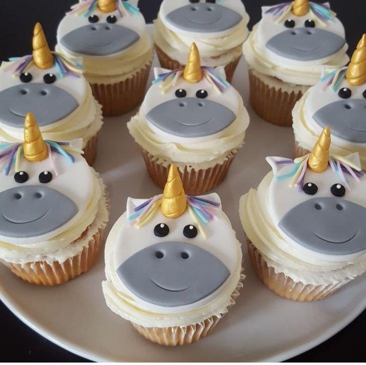 unicorn cupcakes!