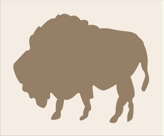 Buffalo Reusable Stencil 6 Sizes Available Create