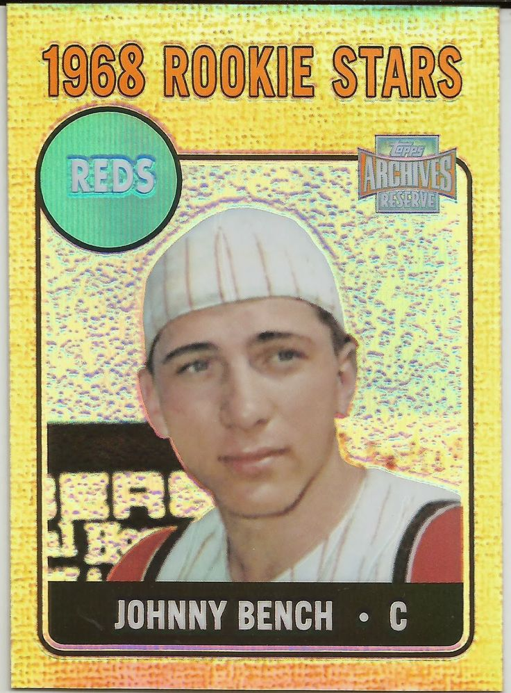 124 Best Images About Johnny Bench Mr Red 3 Mlb On Pinterest Cast Your Vote Cincinnati Reds
