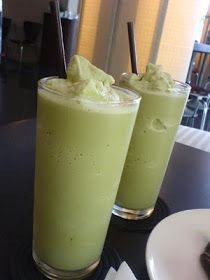 Green Tea Banana Smoothie - Matcha Banana Smoothie...use Almond Milk/Coconut Milk and protein powder instead of dairy