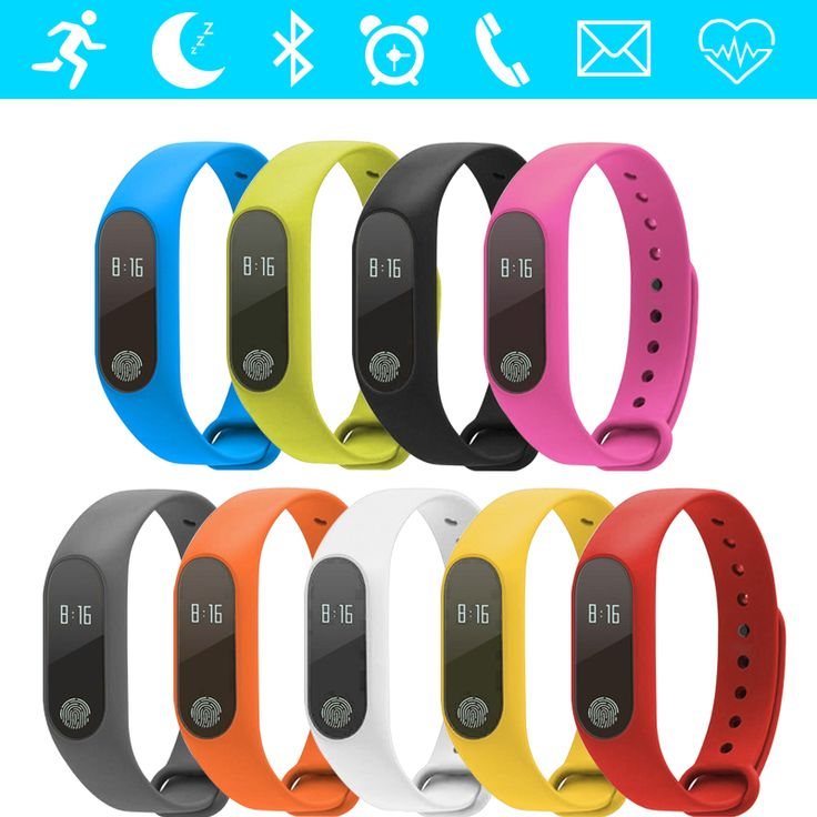 >> Click to Buy << GZDL Smart Band Heart Rate Monitor Sleep Fitness Tracker Call Reminder Wristband OLED Health Bracelet vs Xiaomi Mi Band WT8117 #Affiliate