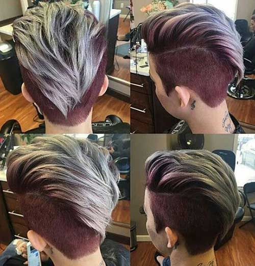 Mohawk Pixie Hairstyle