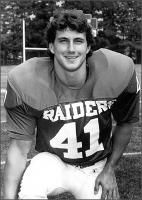 Troy Starr---1985 all american for mount union college alliance ohio is  now helix high football coach la mesa ca.